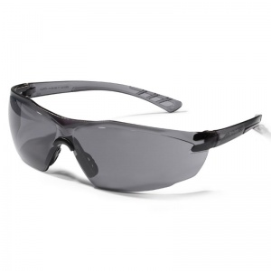 JSP Oxygen Smoke-Tinted Anti-Scratch/Fog Safety Glasses