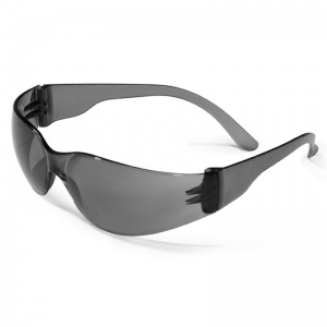 JSP Pop Smoke-Tinted Anti-Scratch/Fog Safety Glasses