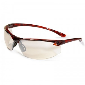 JSP Shamira Indoor/Outdoor Tortoiseshell Safety Glasses