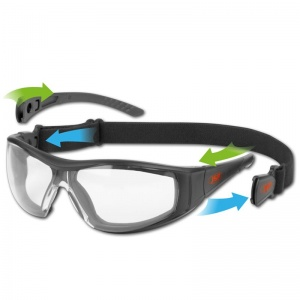 JSP Stealth Hybrid UV Light Goggle Glasses