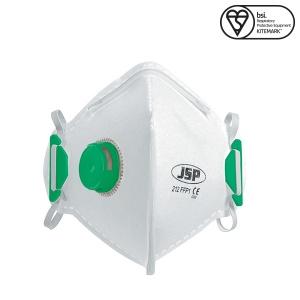 JSP FFP1 Disposable Mask with Valve (Box of 10)