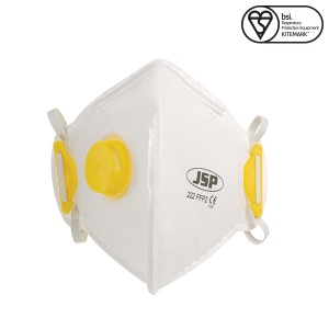 JSP FFP2 Disposable Mask with Valve (Box of 10)