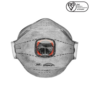 JSP FFP3 Springfit Disposable Mask with Typhoon Valve (Box of 10)