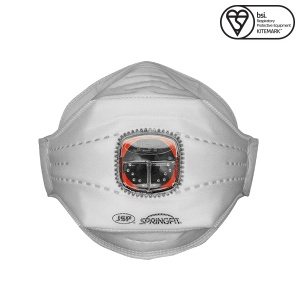 JSP FFP3 Springfit Disposable Mask with Typhoon Valve