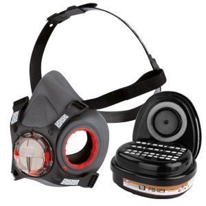 JSP Force 8 Half Mask Respirator with A2P3 Filters