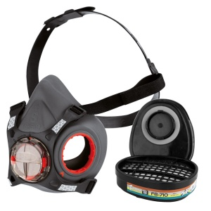 JSP Force 8 Half Mask Respirator with ABEK1 Filters
