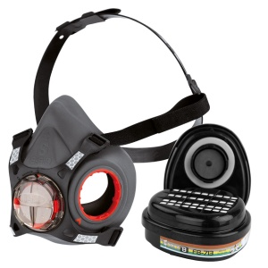 JSP Force 8 Half Mask Respirator with ABEK1 P3 Filters
