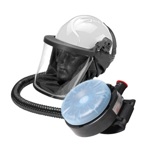 JSP Jetstream Construction Respirator and Helmet Kit with PSL Filters