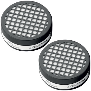 JSP Powercap Active Respirator Pair of Replacement TH1P Filters