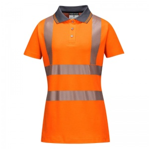 Portwest LW72 Women's Hi-Vis Pro Polo Shirt