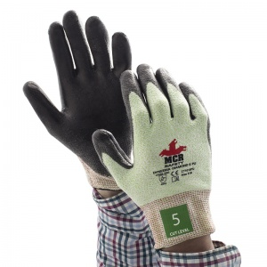 MCR Safety CT1018PU PU Coated Diamond Dyneema Gloves