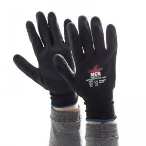 MCR Safety GP1002NF1 Nitrile Foam General Purpose Palm Coated Gloves