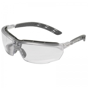 JSP Master Clear Anti-Scratch/Fog Lens Safety Glasses