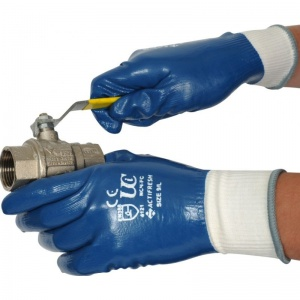 UCi NCN-FC Fully-Coated Nitrile Lightweight Gloves