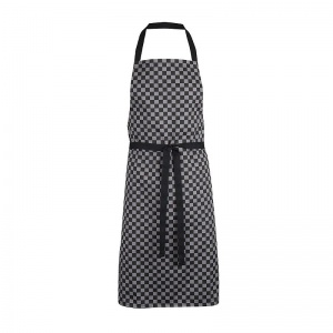 Alexandra Workwear Waterproof PU-Coated Check Bib Apron
