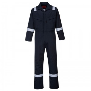 Portwest AF50 Araflame Navy Flame-Resistant Winter Coveralls