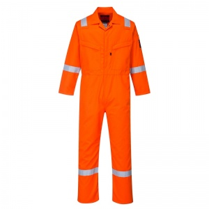 Portwest AF50 Araflame Orange Flame Resistant Winter Coveralls
