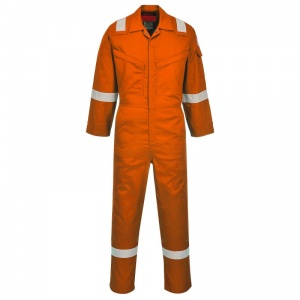 Portwest AF73 Araflame Orange Flame-Resistant Coveralls