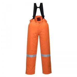 Portwest AF83 Araflame Orange Insulated Flame-Resistant Salopettes