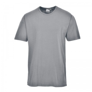 Portwest B120 Grey Thermal Short Sleeve T-Shirt