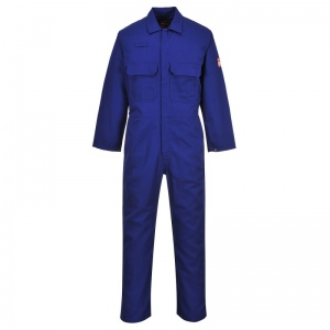 Portwest BIZ1 Blue Bizweld FR Arc Flash Coveralls