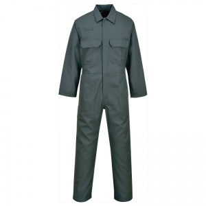 Portwest BIZ1 Green Bizweld FR Arc Flash Coveralls