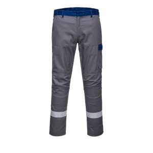Portwest FR06 Grey Bizflame Ultra Metal-Free Trousers