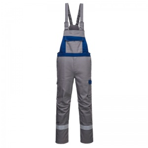 Portwest FR07 Grey Bizflame Ultra Industrial Overalls