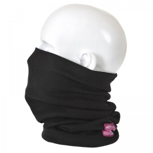 Portwest FR19 Black Anti-Static FR Thermal Neck Tube
