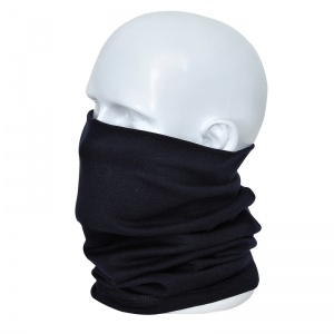 Portwest FR19 Navy Anti-Static FR Thermal Neck Tube