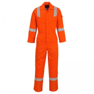 Portwest FR21 Bizflame Orange FR Welding Boiler Suit
