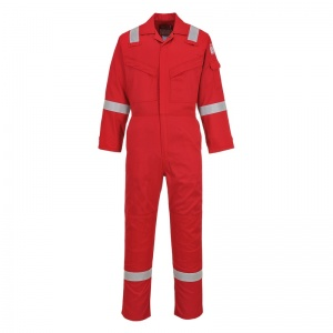 Portwest FR21 Bizflame Red FR Welding Boiler Suit