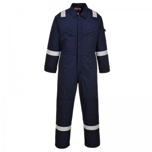 Portwest FR52 Bizflame Navy Anti-Static Class 2 Welding Coveralls