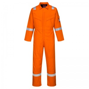 Portwest FR52 Bizflame Orange Anti-Static Class 2 Welding Coveralls