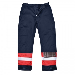 Portwest FR56 Red Bizflame Offshore Trousers