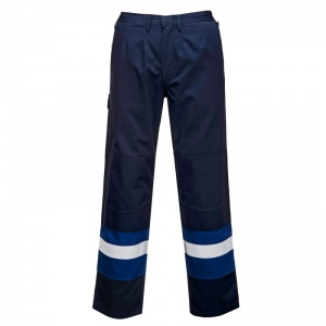 Portwest FR56 Blue Bizflame Offshore Trousers