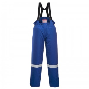 Portwest FR58 Blue Bizflame FR Thermal Bib and Brace