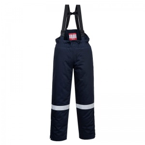 Portwest FR58 Navy Bizflame FR Thermal Bib and Brace
