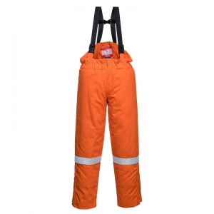 Portwest FR58 Orange Bizflame FR Thermal Bib and Brace