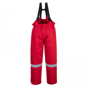 Portwest FR58 Red Bizflame FR Thermal Bib and Brace