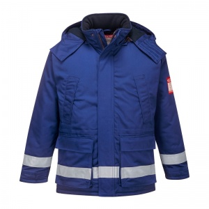 Portwest FR59 Blue Bizflame FR Anti-Static North Sea Jacket