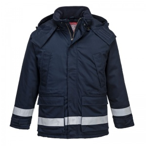 Portwest FR59 Navy Bizflame FR Anti-Static North Sea Jacket