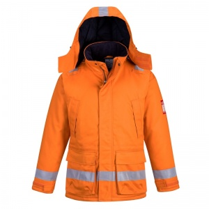 Portwest FR59 Orange Bizflame FR Anti-Static North Sea Jacket
