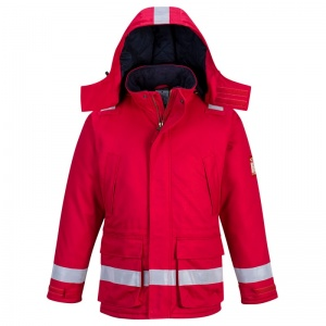 Portwest FR59 Red Bizflame FR Anti-Static North Sea Jacket