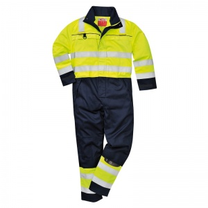 Portwest FR60 High-Vis Multi-Hazard PPE Coveralls