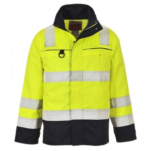 Portwest FR61 High-Vis FR Anti-Static Hazard Jacket