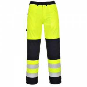 Portwest FR62 High-Vis Multi-Hazard PPE Trousers