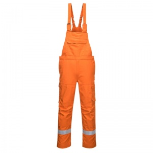 Portwest FR67 Orange Bizflame Ultra Multi-Hazard PPE Overalls