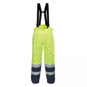 Portwest FR78 Bizflame Multi High-Vis Waterproof Trousers