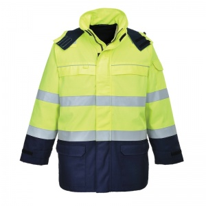 Portwest FR79 Bizflame Multi High-Vis Waterproof Jacket